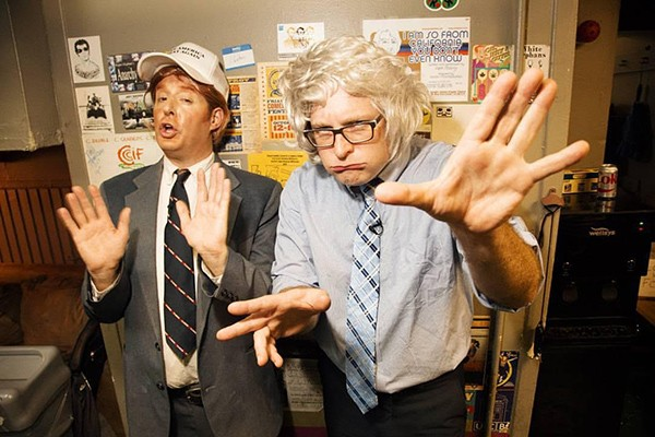Anthony Atamanuik and James Adomian - COURTESY THE ARTIST