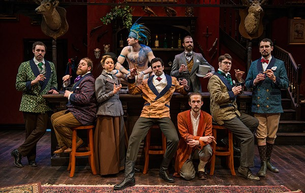 The Explorers Club at Windy City Playhouse - MICHAEL BROSILOW