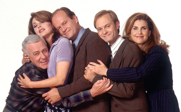 The cast of Frasier celebrate Netflix fixing episode 12 of the show's 11th season. - PHOTO COURTESY NBC