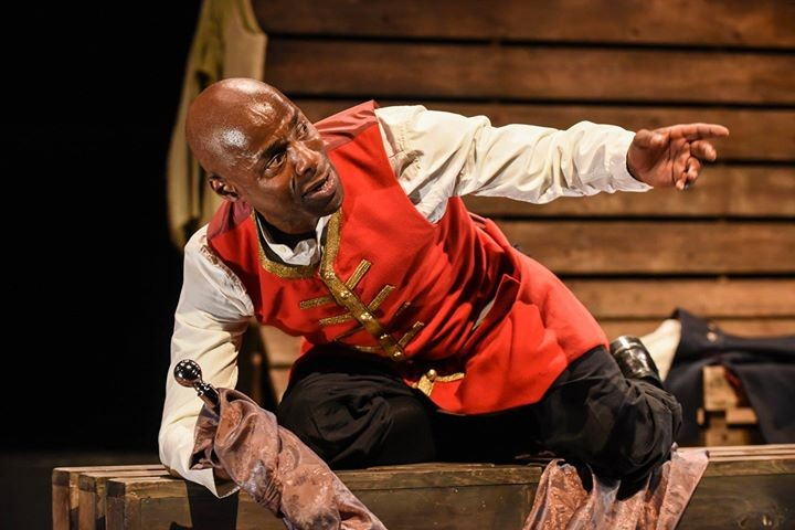 Royal Shakespeare Company actor Paterson Joseph in Sancho: An Act of Remembrance - COURTESY CHICAGO SHAKESPEARE THEATER