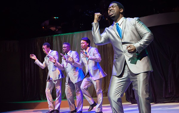 Those Sensational Soulful 60s, playing in repertory at Black Ensemble Theater with Doo Wop Shoo Bop - DANNY NICHOLAS