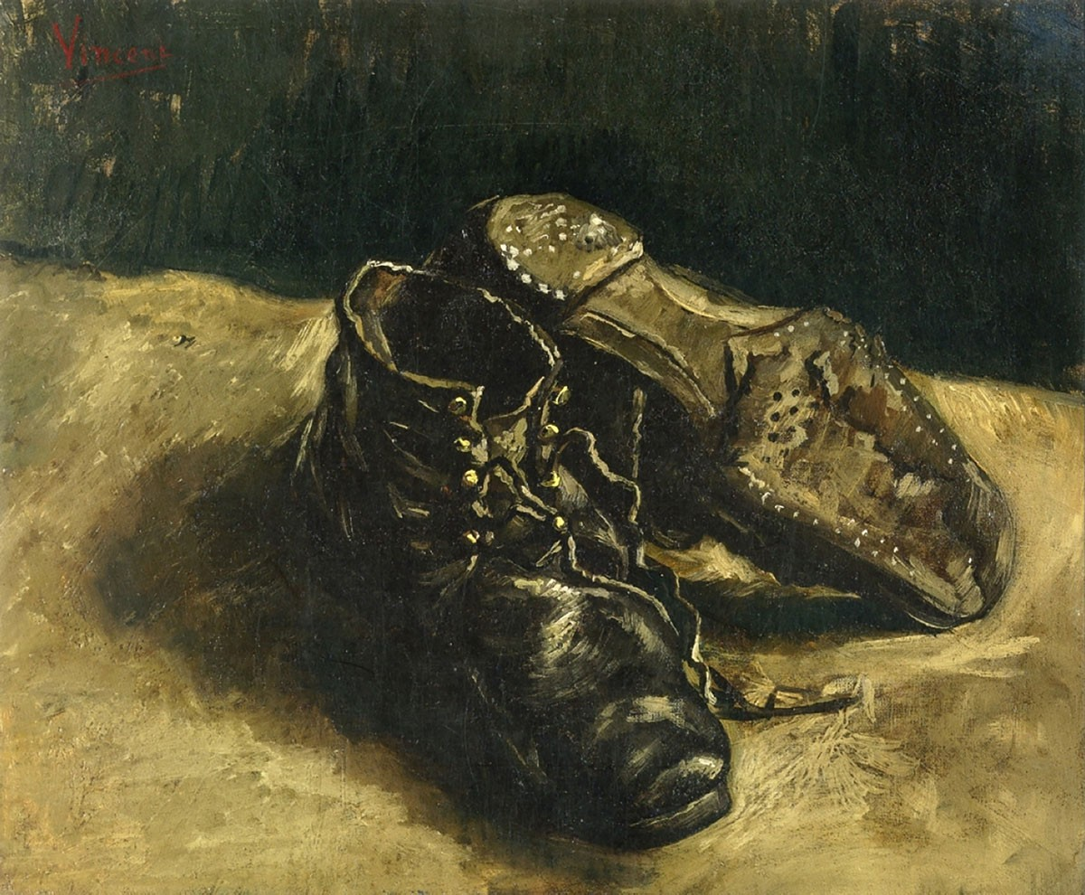 a pair of chaussures van gogh facts
