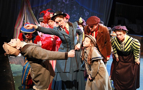 NightBlue's Mary Poppins, at Stage 773 - EMILY SCHWARTZ
