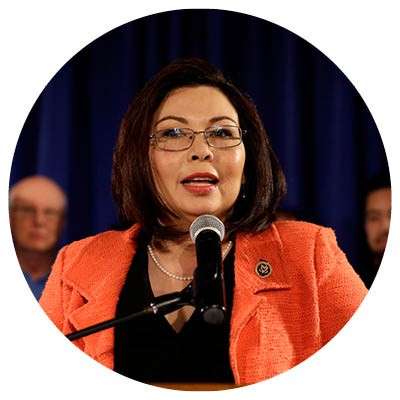 Tammy Duckworth's opponent Andrea Zopp served on Mayor Emanuel's appointed school board. - AP PHOTO/NAM Y. HUH