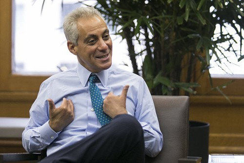 Biggest loser—yes, you, Rahm.