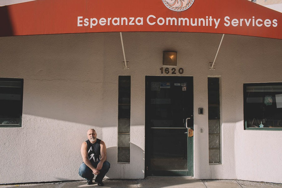 """Esperanza Community Services, it's cool that that's here, versus some fucking sports bar,"" says Sorrondeguy. - STEPHANIE BASSOS"
