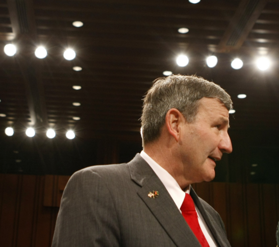 Retired U.S. Army lieutenant general Karl W. Eikenberry - AP