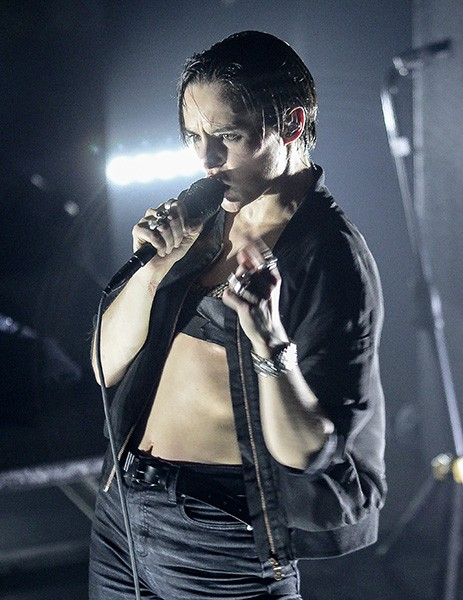 Jehnny Beth of Savages at Metro on April 7 - BOBBY TALAMINE