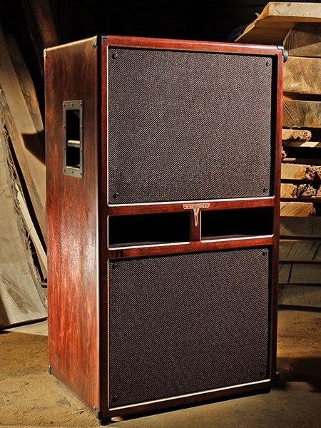 A ported 215 bass cabinet from Tyrant - COURTESY TYRANT