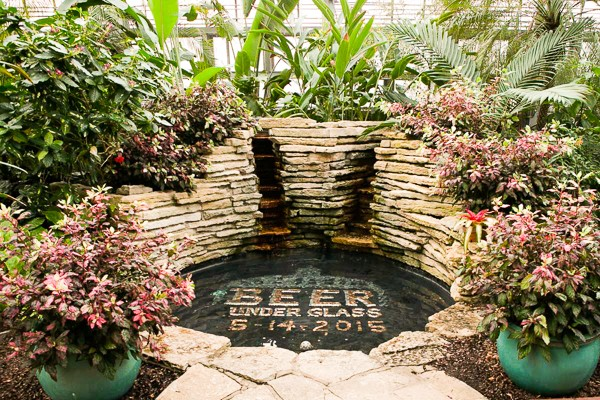 Beer Under Glass at the Garfield Park Conservatory is happening Thursday 5/19. - COURTESY CHICAGO CRAFT BEER WEEK