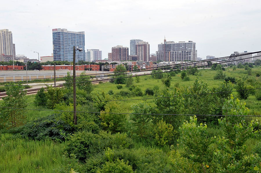 Rezko Village: 62 acres of prime South-Loop real estate once owned by Tony Rezko. - BRIAN JACKSON/SUN-TIMES MEDIA