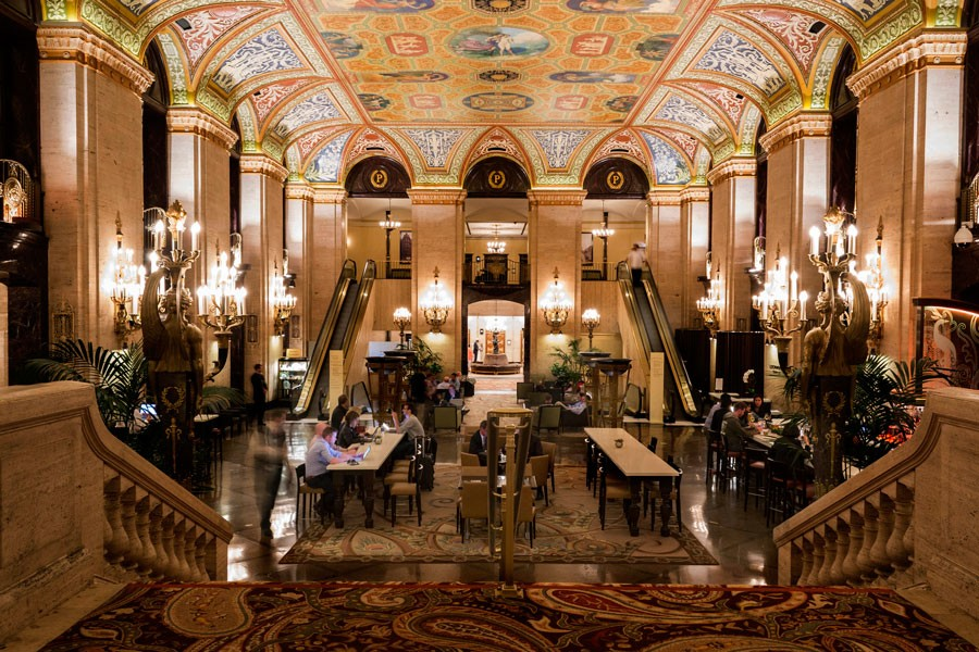 The hotel lobby isn t a way station it s a destination for Small luxury hotels chicago