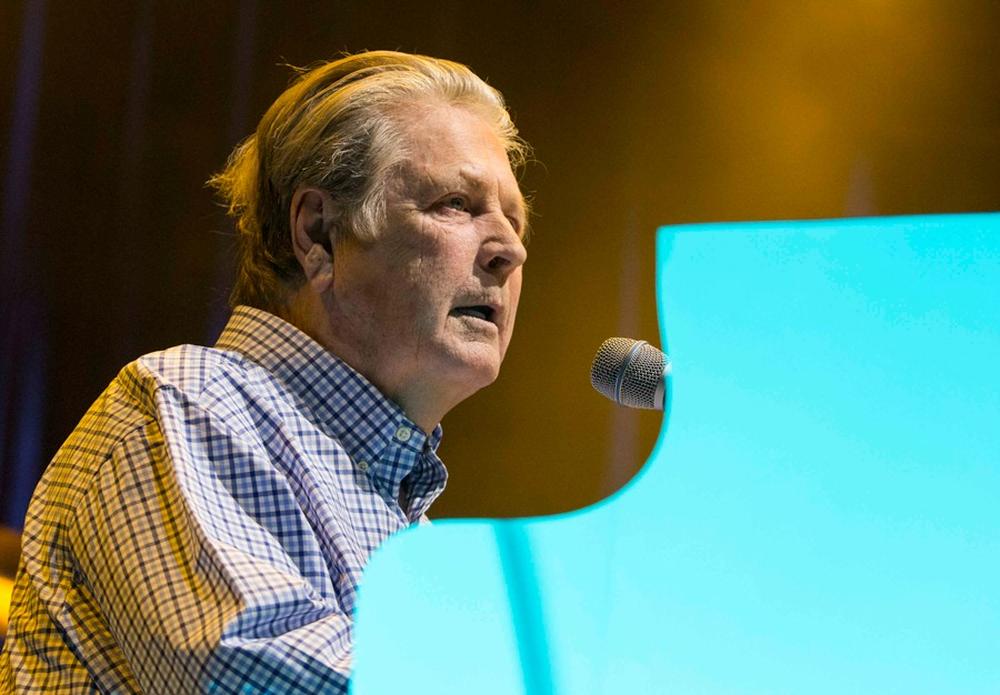 Brian Wilson performs at the Fox Theatre in Atlanta in 2015. - ROBB D. COHEN/INVISION/AP