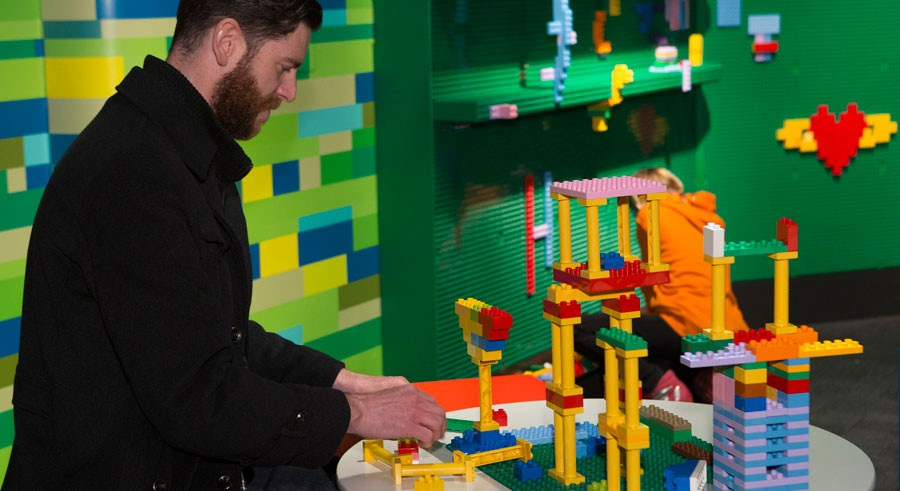 Play with Legos at MSI After Hours: Brick Bash on Sat 7/16. - ©2016 J.B. SPECTOR/MUSEUM OF SCIENCE AND INDUSTRY, CHICAGO