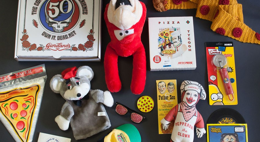 The Whistler hosts a launch party for their exhibit of items from the U.S. Pizza Museum on Wed 7/20. - KENDALL BRUNS