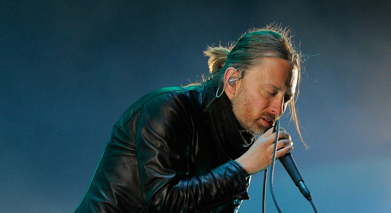 Radiohead headlines this year's Lollapalooza. - AP