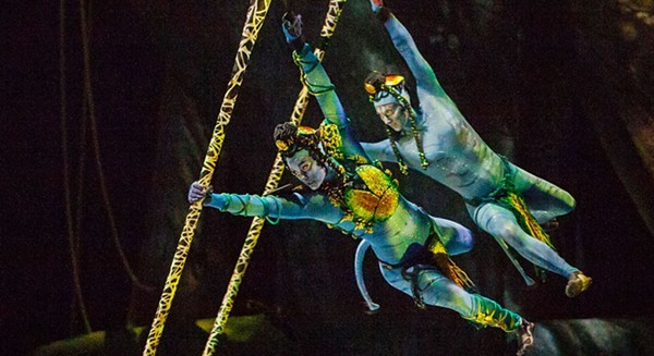 Cirque Du Soleil's latest show is Avatar-inspired. - ERRISSON LAWRENCE / CIRQUE DU SOLEIL
