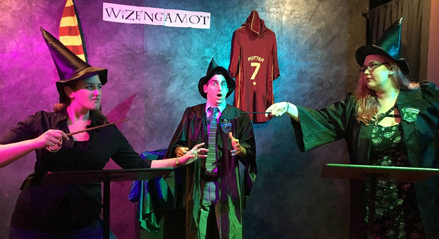 Under the Gun Theater's The Wizengamot - JACKI SCHWARZ