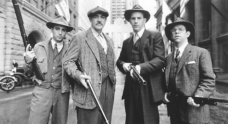 The Untouchables serves as inspiration for the Cinema Supper Club's four-course meal on Tue 8/30.