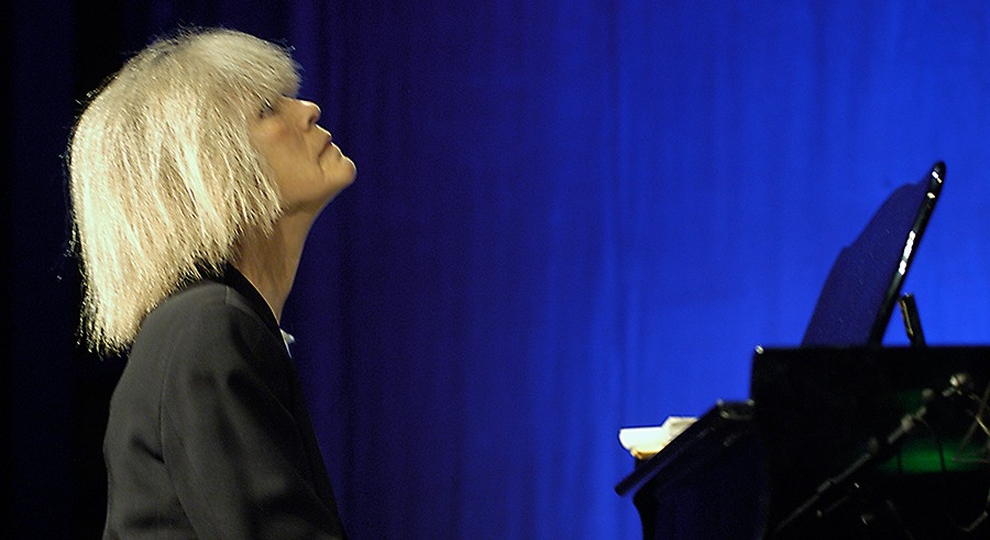 Carla Bley participates in a Q and A after the screening of this Charlie Haden documentary. - COURTESY DCASE