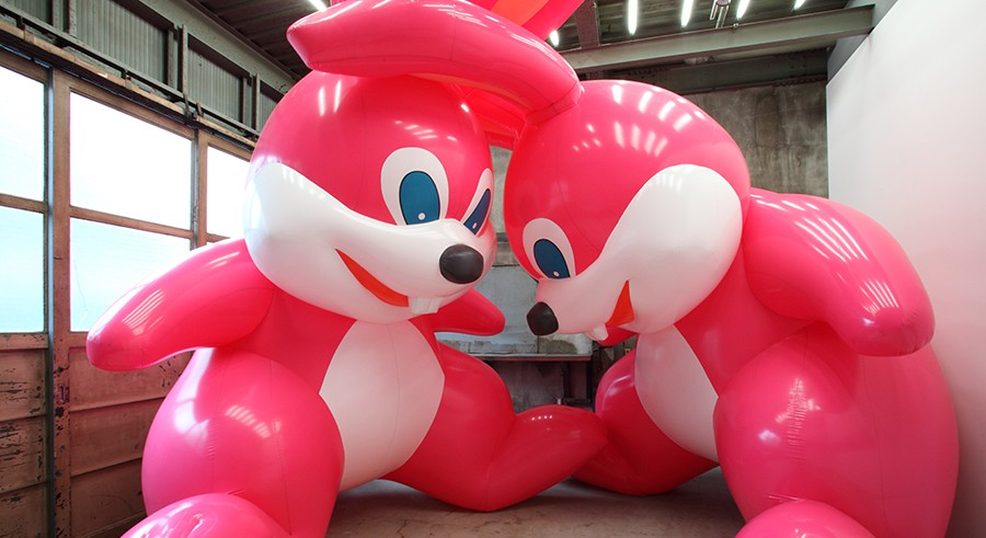 """Blow Up: Inflatable Contemporary Art"" - TORIMITSU MOMOYO"