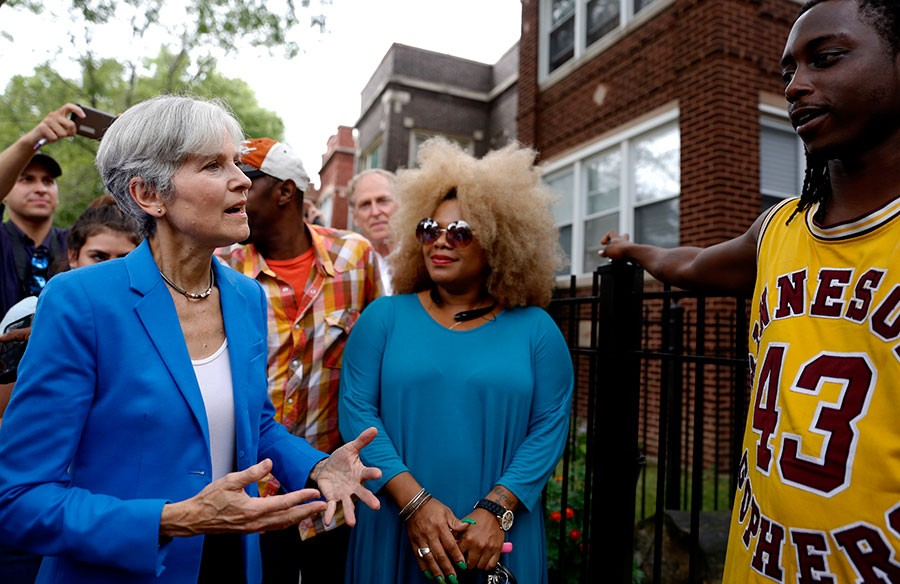Green Party presidential candidate Jill Stein met with Austin residents last Thursday. - TAE-GYUN KIM