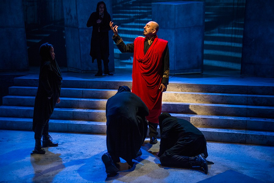 Writers Theatre's Julius Caesar - MICHAEL BROSILOW