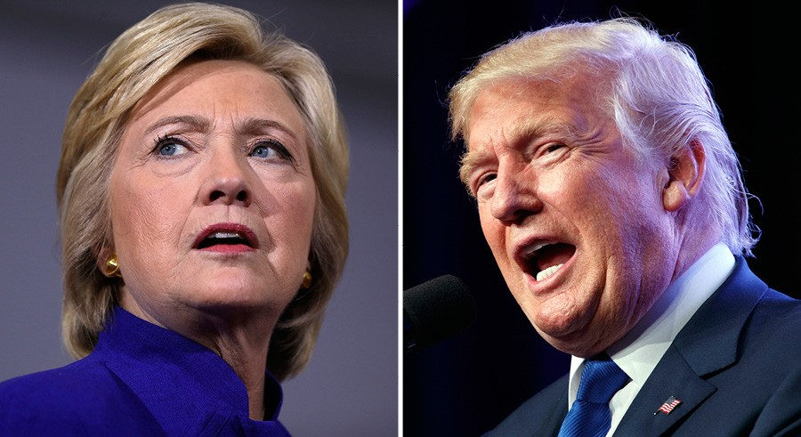 Tonight is the first official showdown of Trump vs. Clinton. - MATT ROURKE; EVAN VUCCI