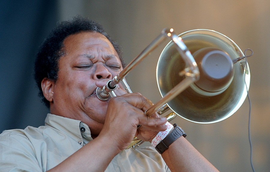 Composer, trombonist, and early AACM member George Lewis - JOHN J. KIM/SUN-TIMES