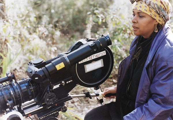 Julie Dash filming Daughters of the Dust