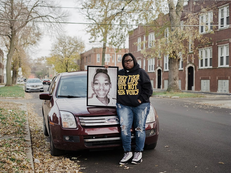 Camiella Williams, who was featured in our most recent People Issue, has dedicated her life to violence prevention after losing more than two-dozen friends and family members to gun violence. - WHITTEN SABBATINI