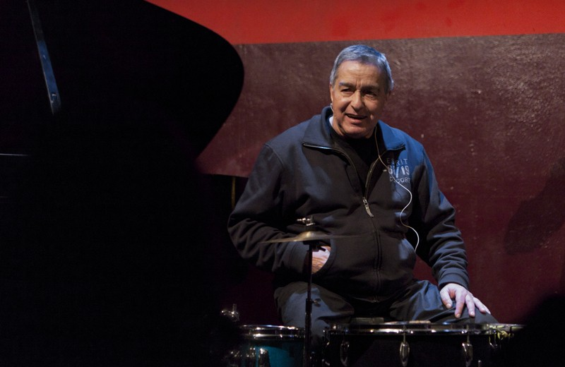 Jaki Liebezeit in December 2011 - WIKIMEDIA COMMONS