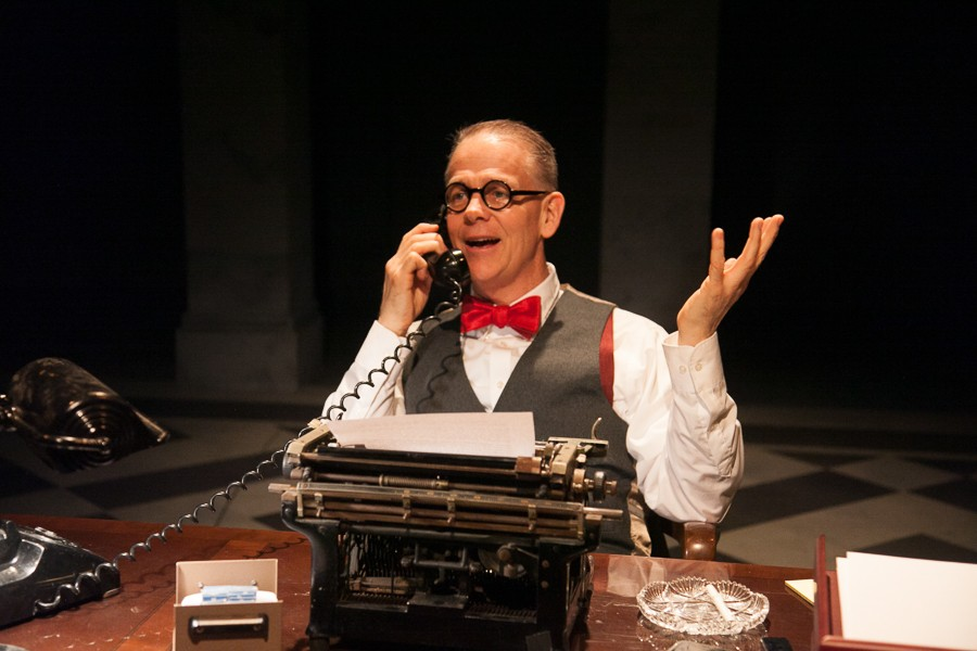 Philip Earl Johnson in American Blues Theater's The Columnist - JOHNNY KNIGHT