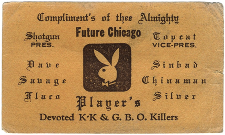 The printed relics of Chicago\'s predigital gangland | Feature ...