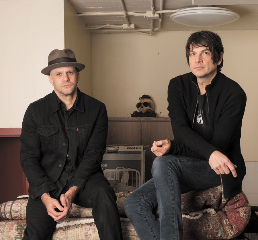 On Fillmore: Darin Gray and Glenn Kotche - NATHAN KEAY