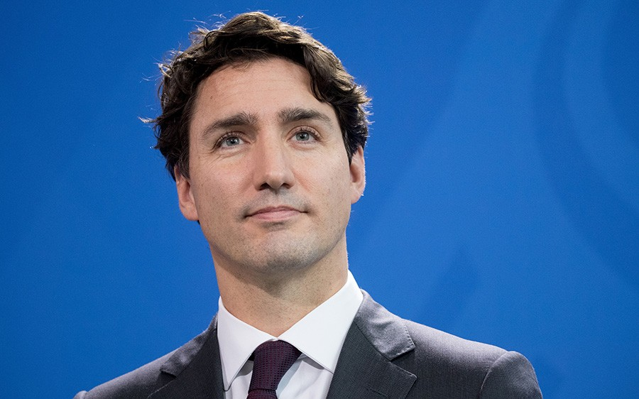 """I think Justin needs to stop fucking around and legalize weed already, like he promised."" - AFP / GETTY IMAGES"
