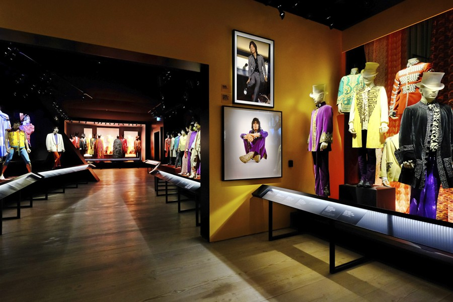"""Exhibitionism–The Rolling Stones"" opens at Navy Pier on Sat 4/15. - COURTESY NAVY PIER"