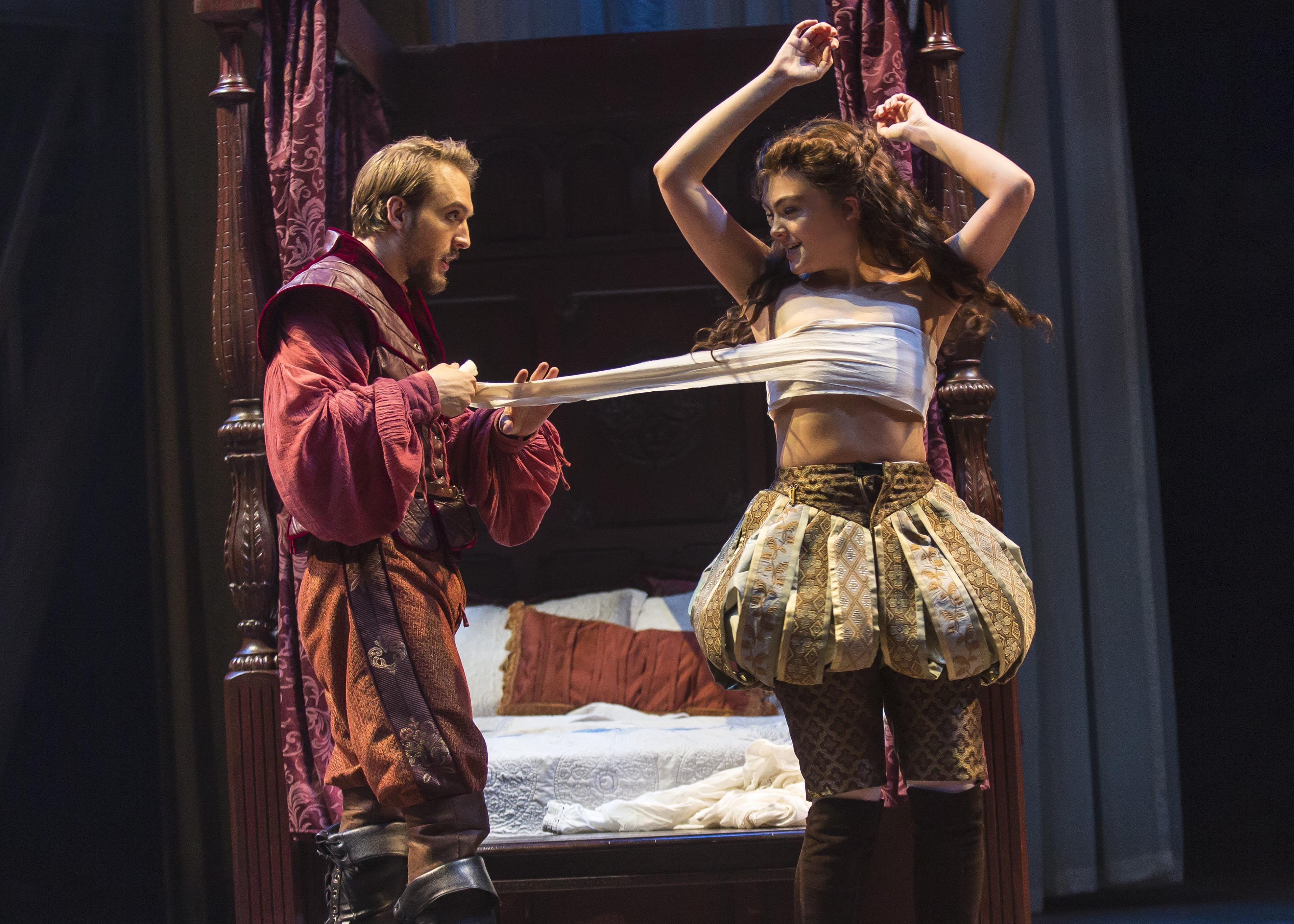 the language of love in shakespeare Annapolis shakespeare company's production of love's labour's lost by william shakespeare,  bawdy language,.