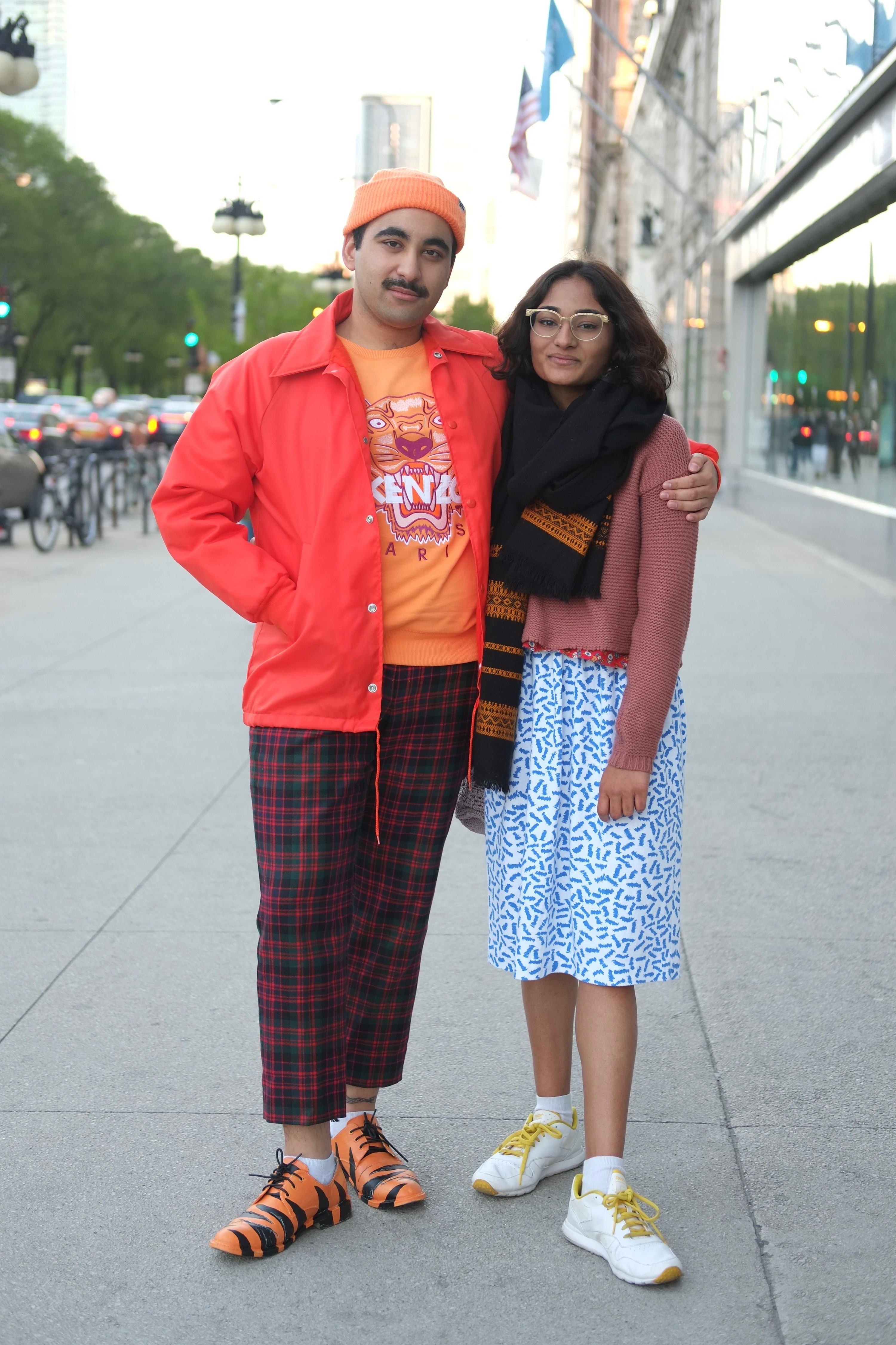Some Of The Most Stylish Attendees At The Saic 2017 Fashion Show Bleader