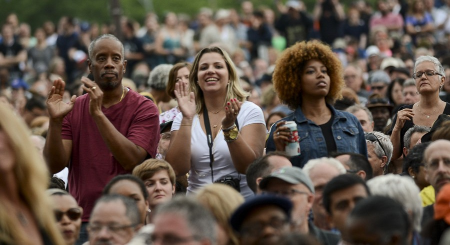 Fans at the 2015 Blues Festival - BRIAN JACKSON/FOR THE CHICAGO SUN-TIMES