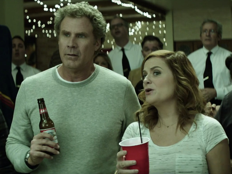 Superb Will Ferrell And Amy Poehler In The House