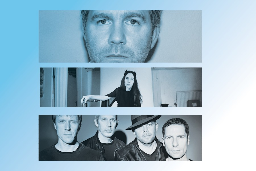 James Murphy of LCD Soundsystem, PJ Harvey, Ride - PHOTO CREDITS: COURTESY THE ARTIST, MARIA MOCHNACZ, EMILIE BAILEY