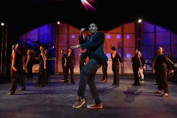 Deverin Deonte and cast in Black Ensemble Theatre's Last Dancer Standing (More Than Hip-Hop) - MICHAEL COURIER