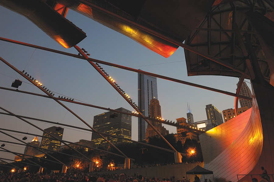 The music starts at the Cultural Center early on Thursday and then moves to Millennium Park that night. - SCOTT STEWART