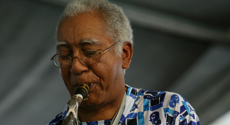 """New Orleans saxophonist Edward """"Kidd"""" Jordan makes his traditional festival-time visit, playing three shows this weekend in a quartet with Alvin Fielder, Joshua Abrams, and Jim Baker. - COURTESY THE ARTIST"""