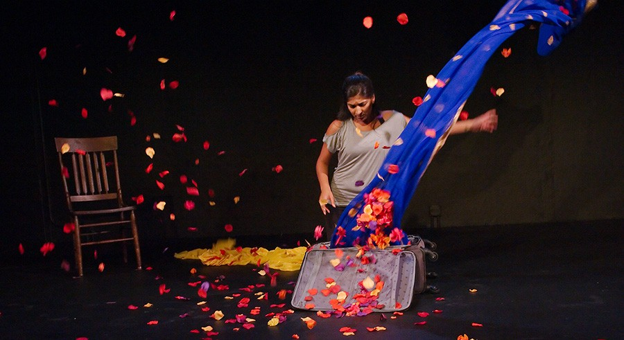 Minita Gandhi in 16th Street Theater's Muthaland - ANTHONY AICARDI