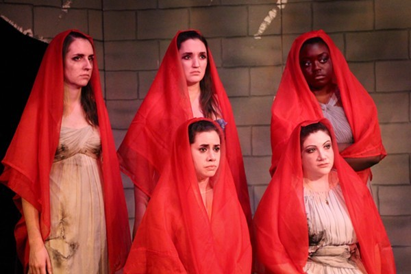 Three Crows Theatre's The Trojan Women - KATHERINE SIEGEL
