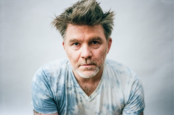 James Murphy (no not Steve Bannon) leads LCD Soundsystem to three shows at the Aragon Ballroom this week. - RUVAN WIJESOORIYA