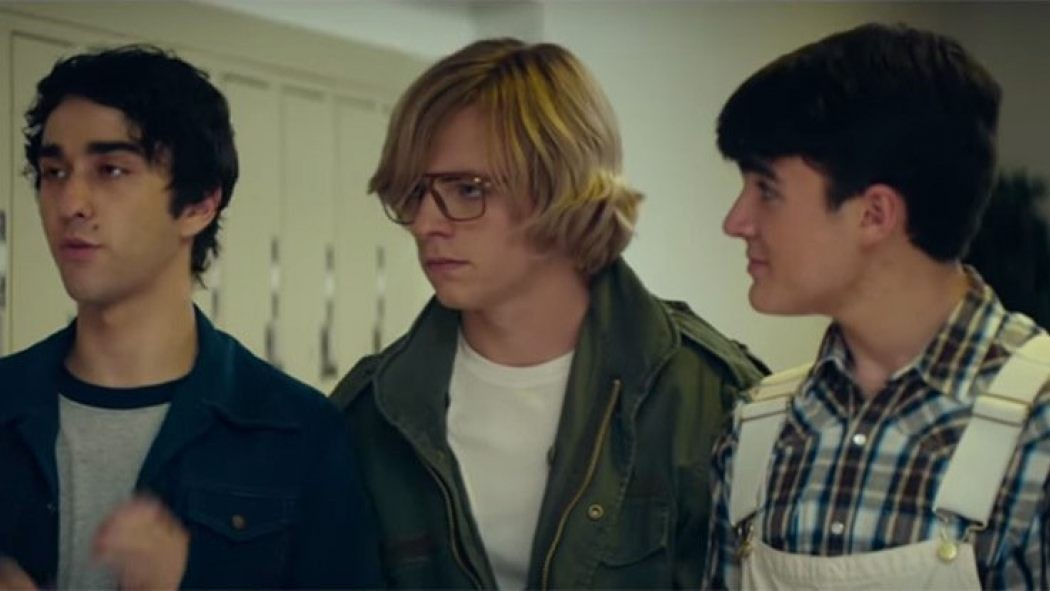 Ross Lynch (center) in My Friend Dahmer