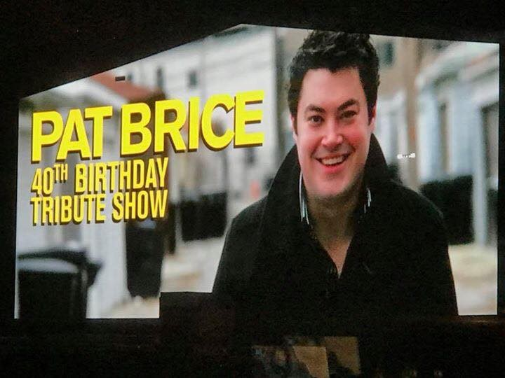 Guaranteed Rate Field projected an image of Pat Brice on a Jumbotron - ASHLEY FLOREZ BRICE